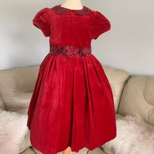 """New Janie and Jack """"Holiday Traditions"""" Dress Sz 5"""